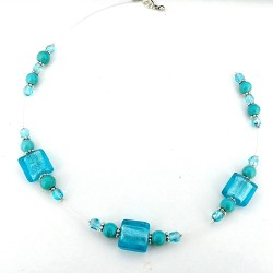 Collier Blue Lagon